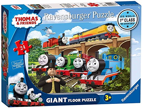 (Ravensburger Thomas & Friends Rebecca Joins The Team, 24pc Giant Floor Jigsaw Puzzle)