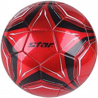 C.N. Football Machine à Coudre PVC entraînement intérieur et extérieur Football Adulte,Rouge,1