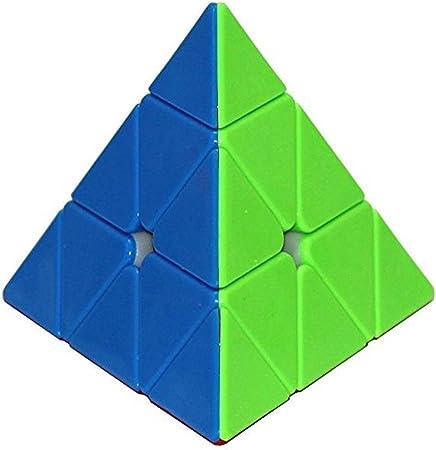 Jenil International Pyraminx Stickerless Speed Cube Triangle Cube Puzzle
