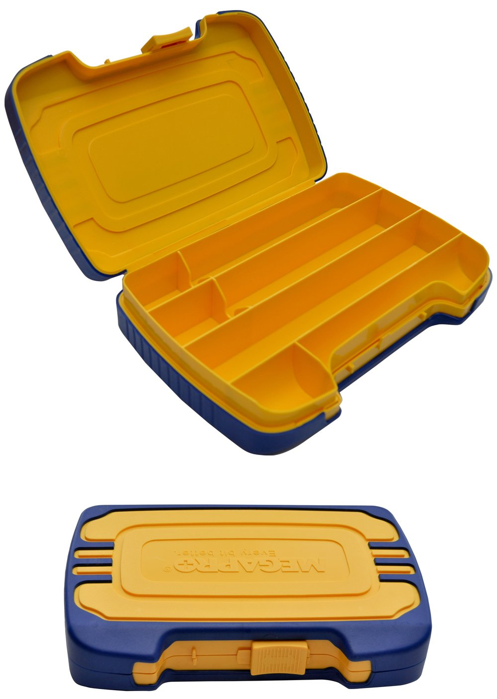 Megapro Plastic Tool Case for MegaPro Screwdrivers, Tips and Extensions, 7 Inch Length x 5 Inch Width x 3 Inch Height (6KITCASE)