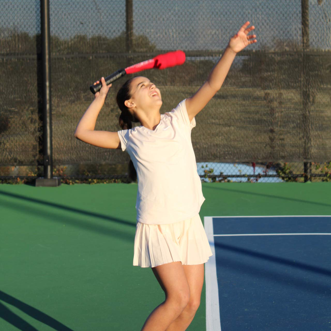 OnCourt OffCourt Serving Sock - Improve Rhythm and Fluidity of Serves/Correct Uneven and Awkward Serving Motions