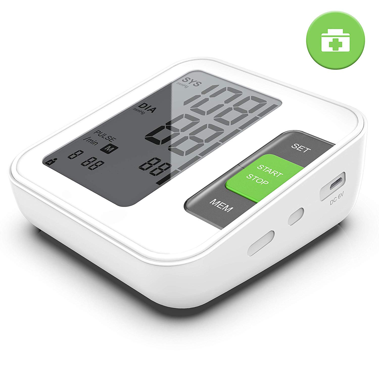 Latest Brand Blood Pressure Monitor - Approved for Arm Use - Digital Blood Pressure Machine BP ALLFORYOU091104 by STARLIKE