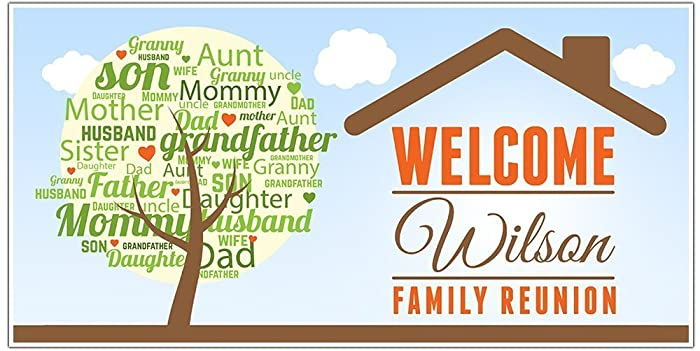 Handmade gifts for family reunion gift ftempo for Reunion banners design templates