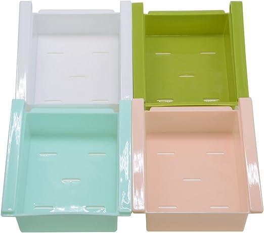 Cajones de almacenamiento para frigorífico y nevera, de plástico ...