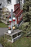 historic pictoric Photograph | Buoys turned into birdhouses outside The Palabra, a gift shop in the fishing and lobstering port of Boothbay Harbor, Maine| Fine Art Photo Reporduction 16in x 24in