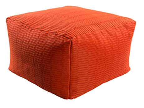 Amazon 40 Apple Red Square Acrylic Decorative IndoorOutdoor Magnificent Outdoor Pouf Footstool