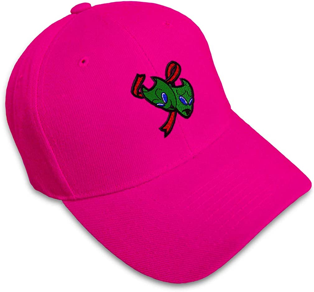 Custom Baseball Cap Alien Theater Masks Embroidery Dad Hats for Men /& Women