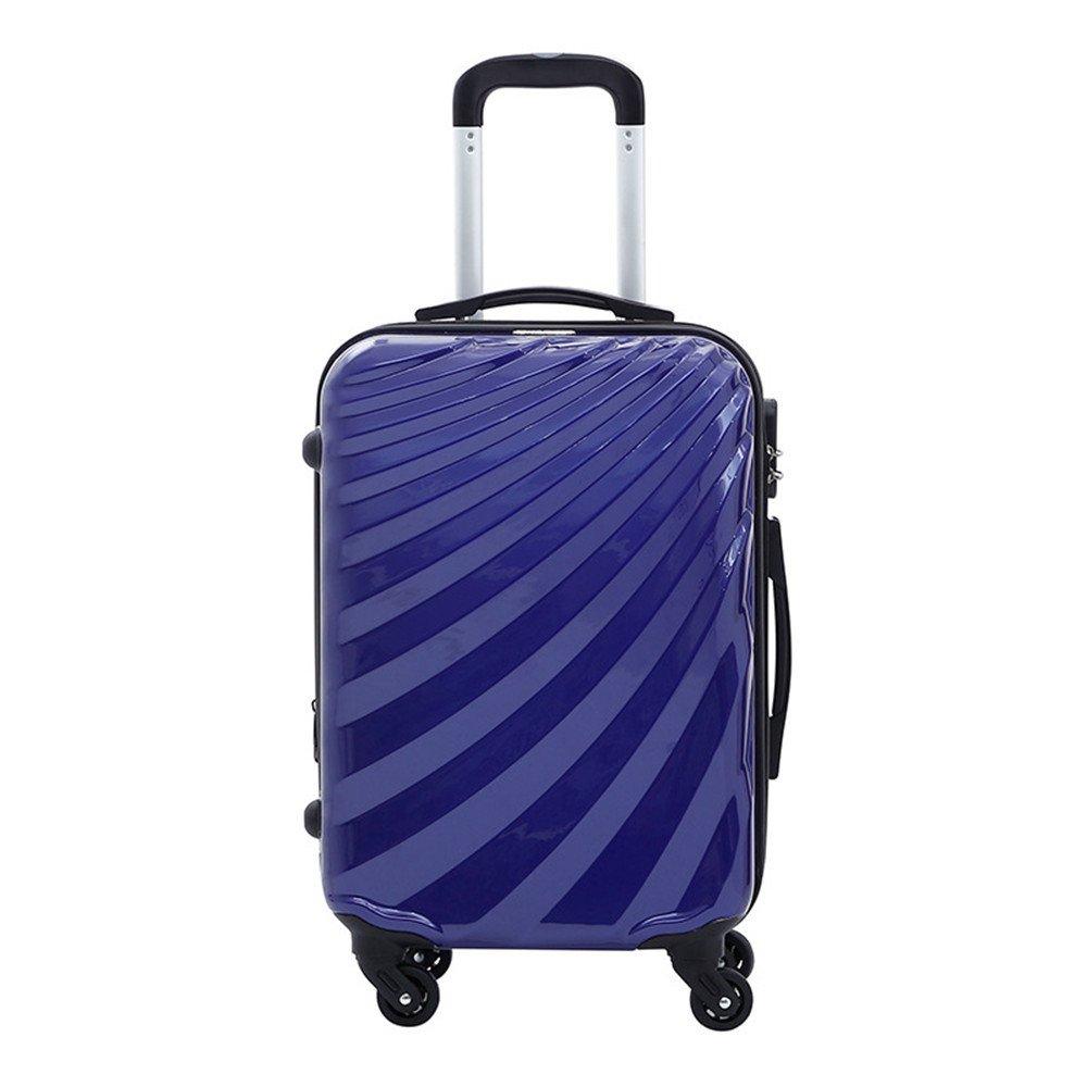 荷物ケース, スーツケース, PCの配送ボックス防水ロッド旅行ケース水の波状の摩耗ロッドケース20/24インチ 荷物エアボックス (サイズ : 24) B07TVGK4JN  24