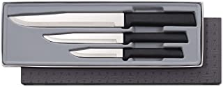 product image for Rada Cutlery Housewarming Knife Gift Set – 3 Piece Stainless Steel Knives With Black Resin Stainless Steel Handles Made in the USA
