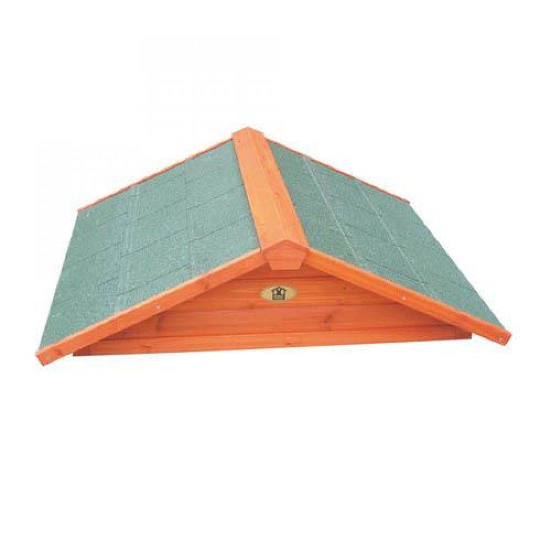 Lbpp Domestic Clearance Premium Flat Pack Rabbit   Guinea Pig Hutch Roof Single
