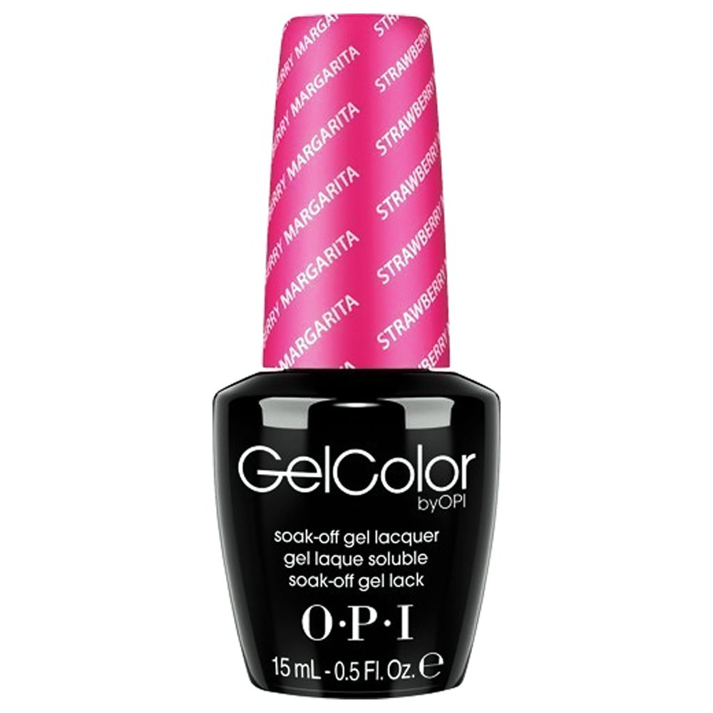 OPI Gelcolor Collection Nail Gel Lacquer, Strawberry Margarita, 0.5 Fluid Ounce OPIG0081