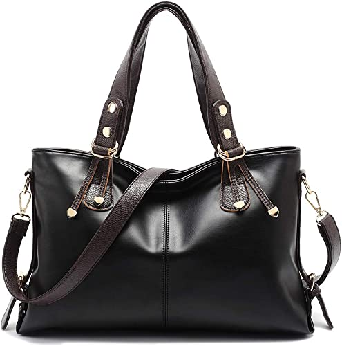 Women Handbag Shoulder Messenger Crossbody Bag Ladies Leather Satchel Purse Tote