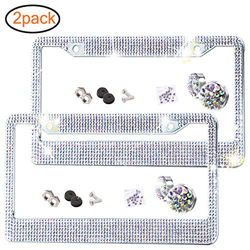 bling auto plate - 1