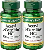 Cheap Nature's Bounty® L-Carnitine 400 mg & ALA 200 mg, 30 Capsules (Pack of 2)