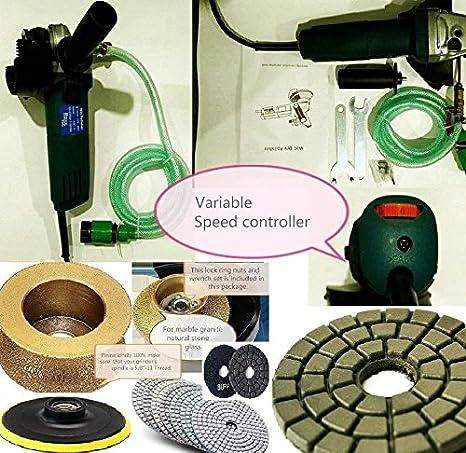 Amazon.com: Wet Polisher Grinder Variable speed 3/4/20mm ...