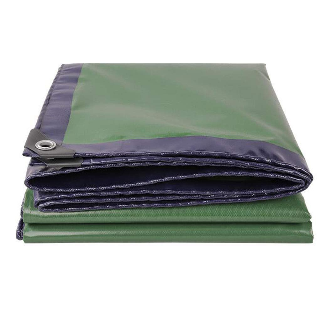 LEGOUGOU Wagon Farbe Cyan Daogua Plane Tuch Baldachin Tuch Wasserdicht Sonnenschutz Dicke Leinwand Tuch Dicke 0,45 Mm, 420 G M² Multifunktions