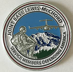 Joint Base Lewis McChord Challenge Coin