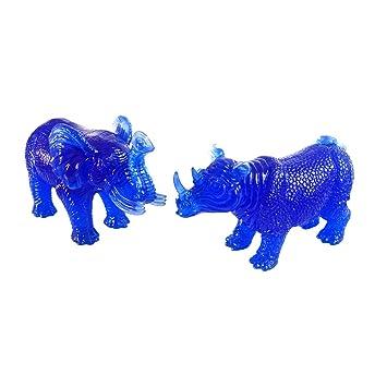Feng Shui-Protection et éléphant Bleu rhinocéros W gratuit Mxsabrina ...