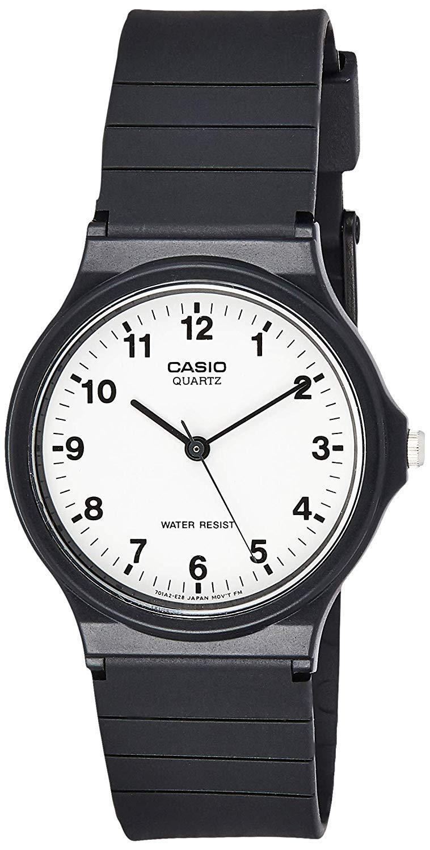 Casio Men's Quartz Resin Casual Watch Color:Black (Model: MQ24-7B)