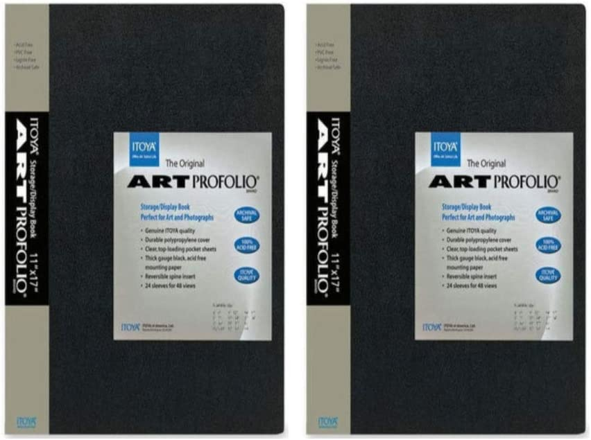 "24 Page Sleeve Book ITOYA 11/"" X 17/"" Art Profolio FREE SHIPPING Acid-Free"
