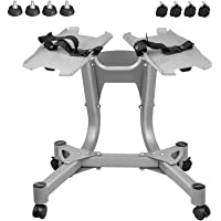 Dumbbell Stand Metal 330LBS Dumbbell Rack Stand Only Fixed Seat Belt Weight Stand for Dumbbells for Home Gym(only Stand)