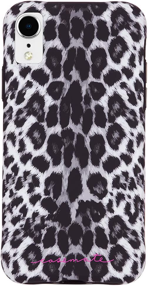 Amazon Com Case Mate Iphone Xr Case Wallpapers Iphone 6 1 Gray Leopard