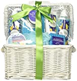 Koehler Home Decor Accent Blueberry & Sunflower Spa Basket
