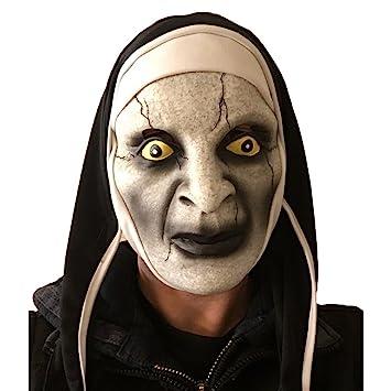 75ba2489b The Conjuring, Varak Nun Mask, Latex, Horror Fancy Dress, Nuns Habit ...