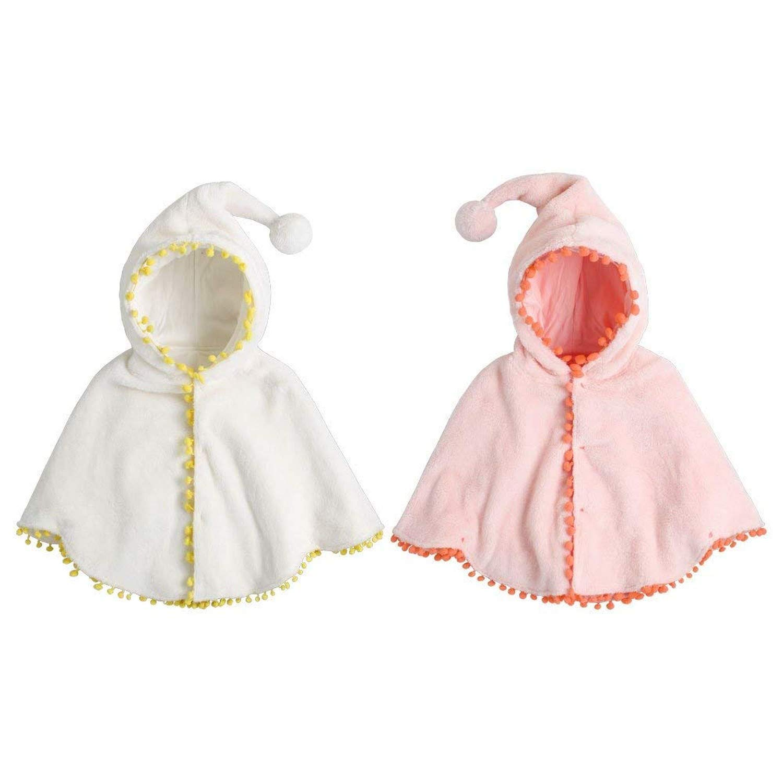 Amazon.com: Bebé Niñas Ropa Niños Calido Poncho Capucha ...