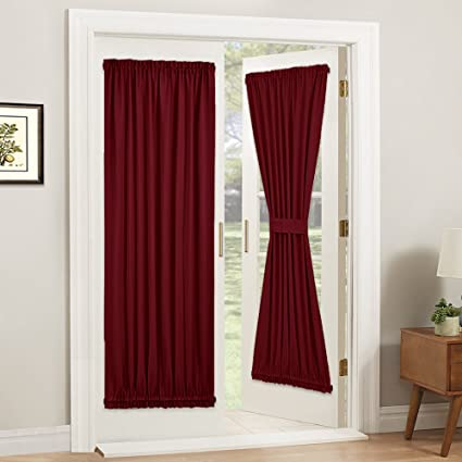 Superior PONY DANCE French Door Curtain   Burgundy New Year Panel Rod Pocket  Blackout Window Treatments Privacy