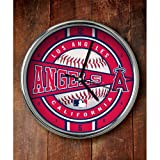 Los Angeles Angels of Anaheim Chrome Wall Clock