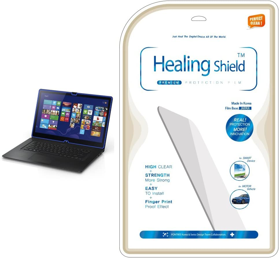 Healingshield AFP Olephobic Premium LCD Screen Protector for Sony Vaio FIT 15A Multi-Flip SVF15N