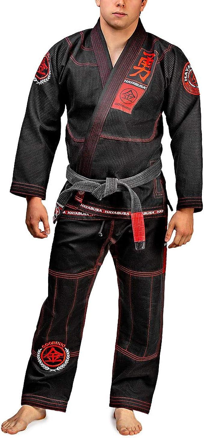 Amazon.com: Kimono de Jiu Jitsu brasileño Goorudo 3.0 ...