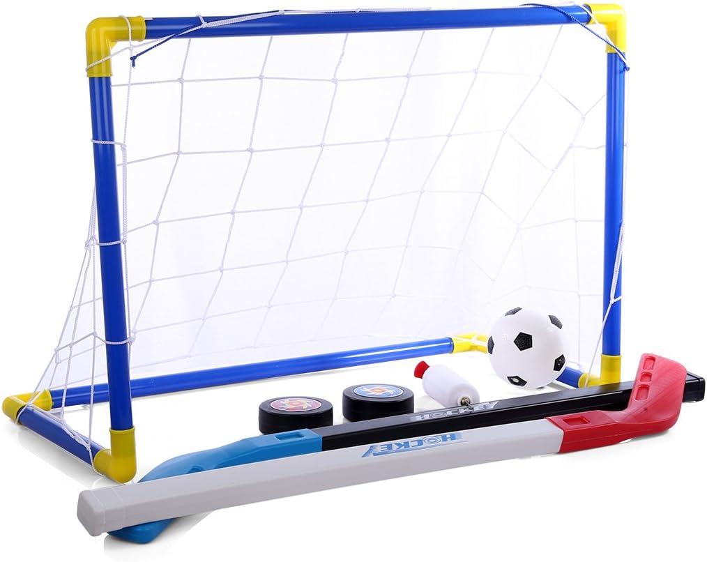 Koyae Porterias de Futbol para Niños, 2 en 1 Portátil Juguete ...