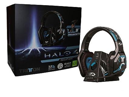 Mad Catz - Auriculares Tritton Inalámbricos Dolby 7.1 Halo 4 (Xbox 360)