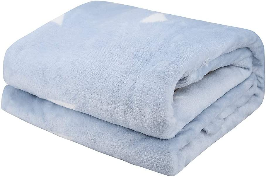 Fuzzy Soft Microfiber Sofa Bed Super Soft and Warm Thick Breathable Peky Blanket Throw Flannel Fleece Microfiber
