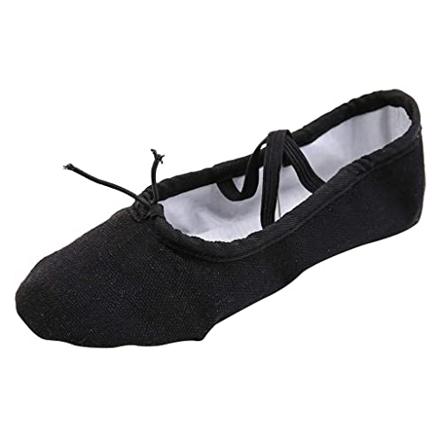 Zapatos De Baile para Mujer Yoga Ballet Latin Point Fitness ...