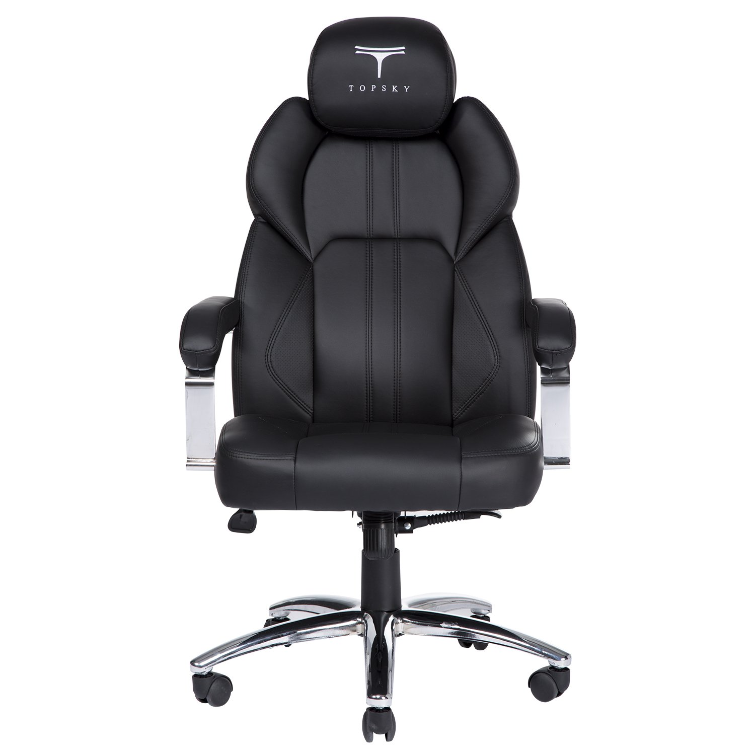 topsky executive office chair large pu leather chair with