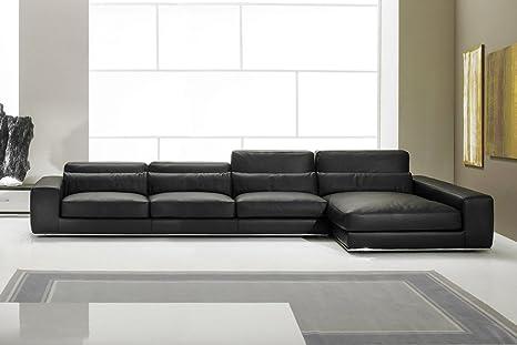 Calia maddalena divano in pelle aramis doppio angolare x