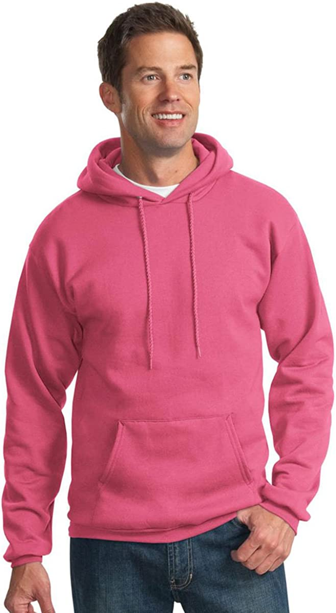 Port /& Company Mens Pullover Hooded Sweatshirt/_Sangria/_XXXX-Large