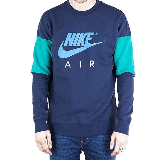 Sudadera Nike – Air azul/verde/azul talla: XL (X-Large