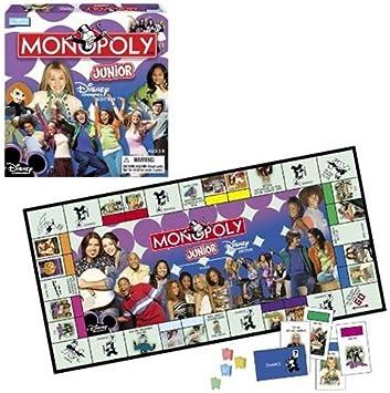 Monopoly Junior Disney Channel Edition by Hasbro: Amazon.es: Juguetes y juegos