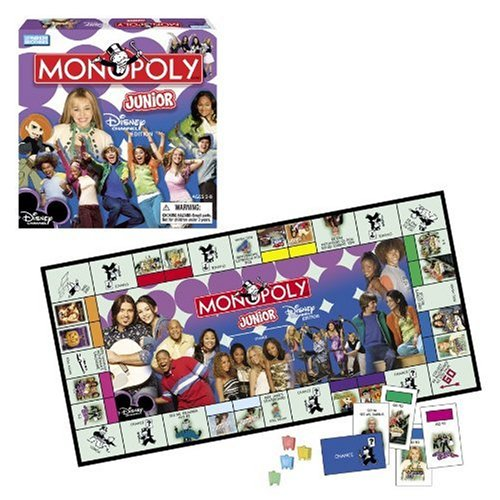 Monopoly Junior Disney Channel -