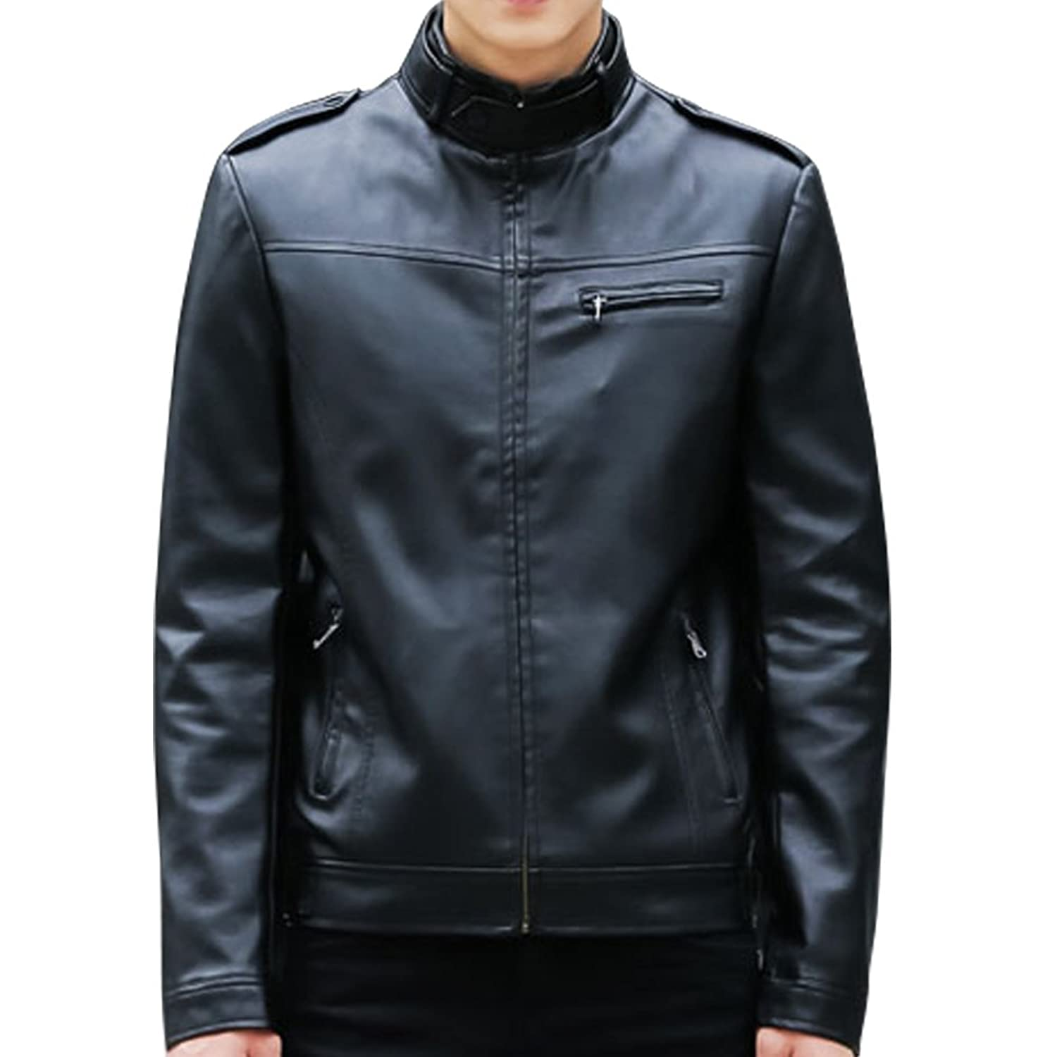 WB Fashion jacket Motorcycle Genuine Leather jacket men sheepskin coat jacket Spring