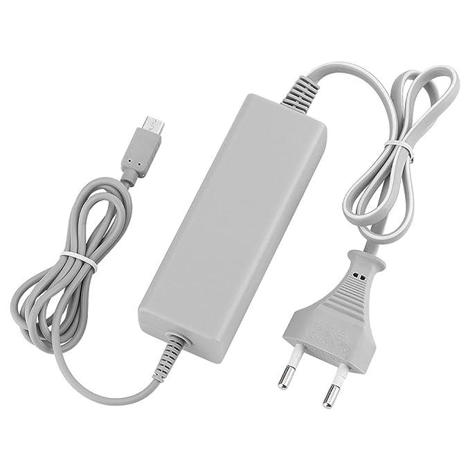 actecom® Cargador DE Corriente DE Pared para Nintendo Wii U Gamepad