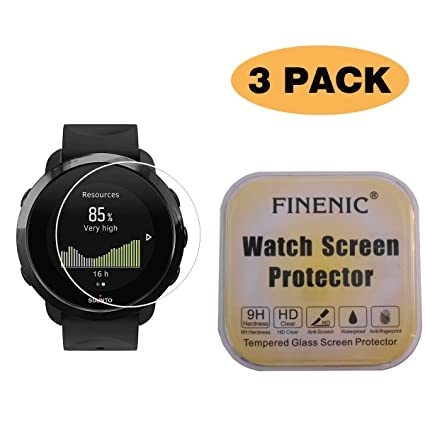 Amazon.com: FINENIC [3 Pack] Screen Protector for Suunto 3 ...