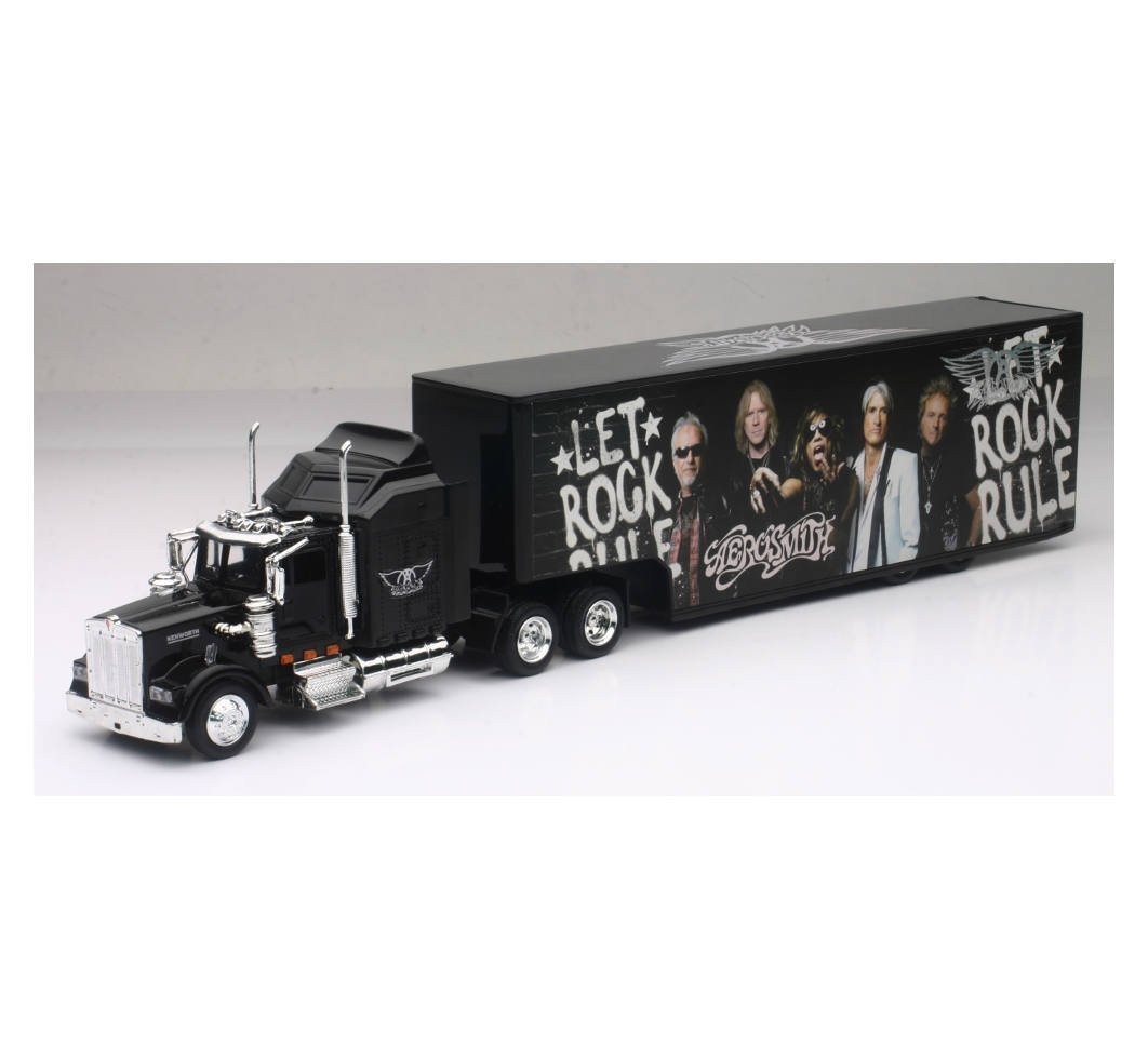 New-Ray SS-15643 Kenworth Aerosmith Rock Band Truck [並行輸入品] B078WT335Q