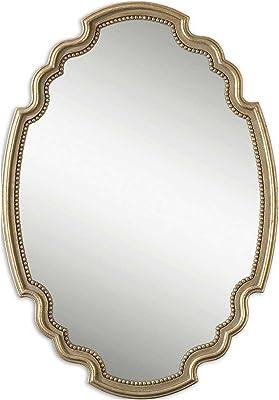 Amazon Com Uttermost 12849 Valentia Mirror Silver Home