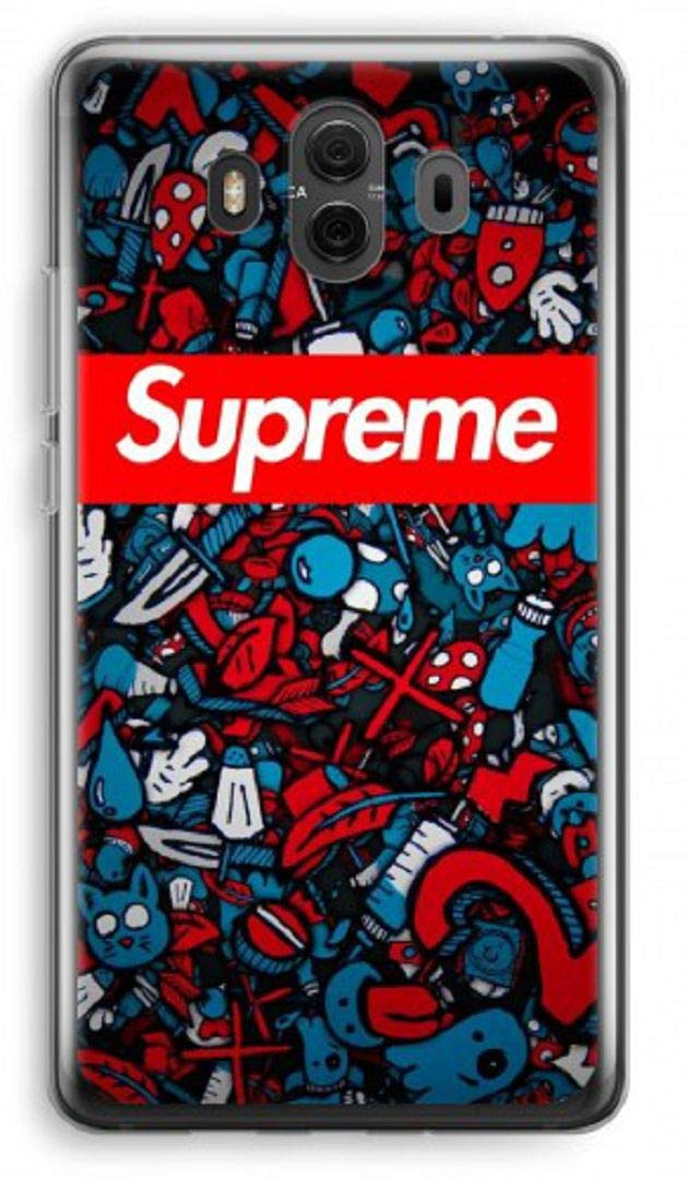 cheap for discount a0a00 c180a Amazon.com: Inspired by Supreme cell phone case Huawei mate 10 20 ...