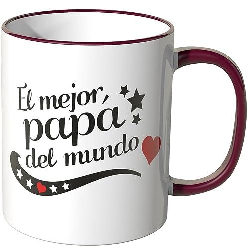 Taza de desayuno El mejor papá del mundo